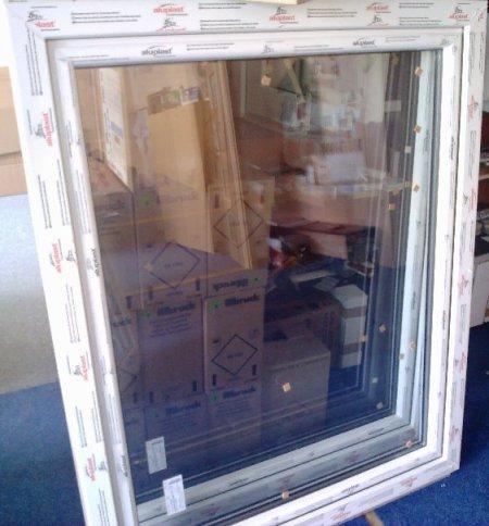 Plastové okno Aluplast 116x113 levé, plastová okna